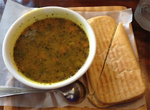Curried Lentil Soup