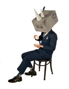 Rhinoceros. Actor Matt Reznek; Photographer Tim Matheson