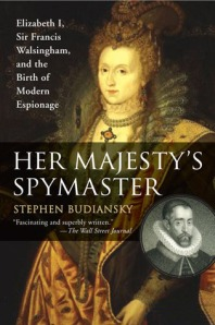 Her Majest's Spymaster - cover